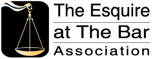The Esquire at the Bar Association Logo